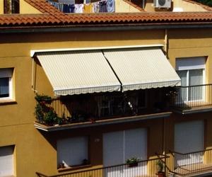 Toldos en balcones