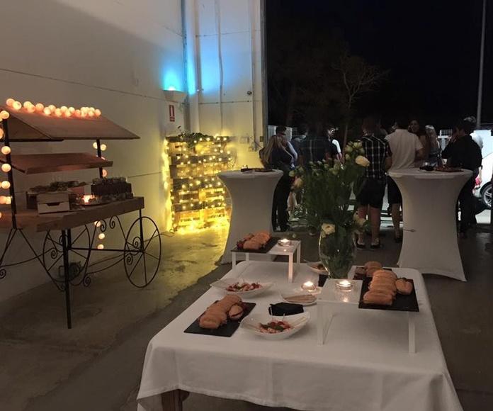 Eventos: Catálogo de Catering Plat A Taula