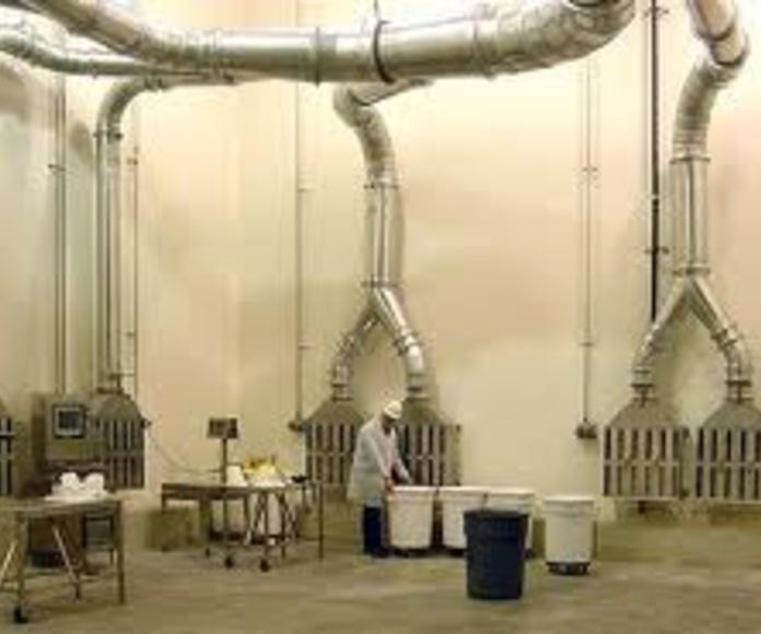 Campanas extracción: Productos y Servicios de AISCLIMER