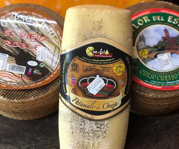 Pack oferta Quesos de León: Oveja viejo + oveja curado +patamulo oveja: Productos de El Racó del Bierzo