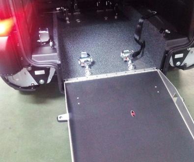 Cabal Automoción adapta vehículos para transporte.