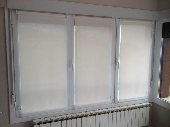 Cortinas de screnn con soporte especial para colocar en la hoja de la ventana