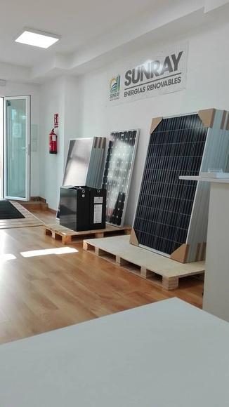 Venta de material fotovoltaico y eléctrico: Servicios de Sunray Energías Renovables