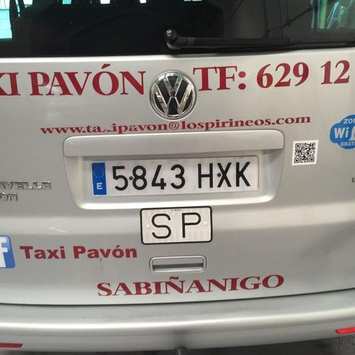 Empresas de taxis Sabiñánigo | Taxi Antonio Pavón