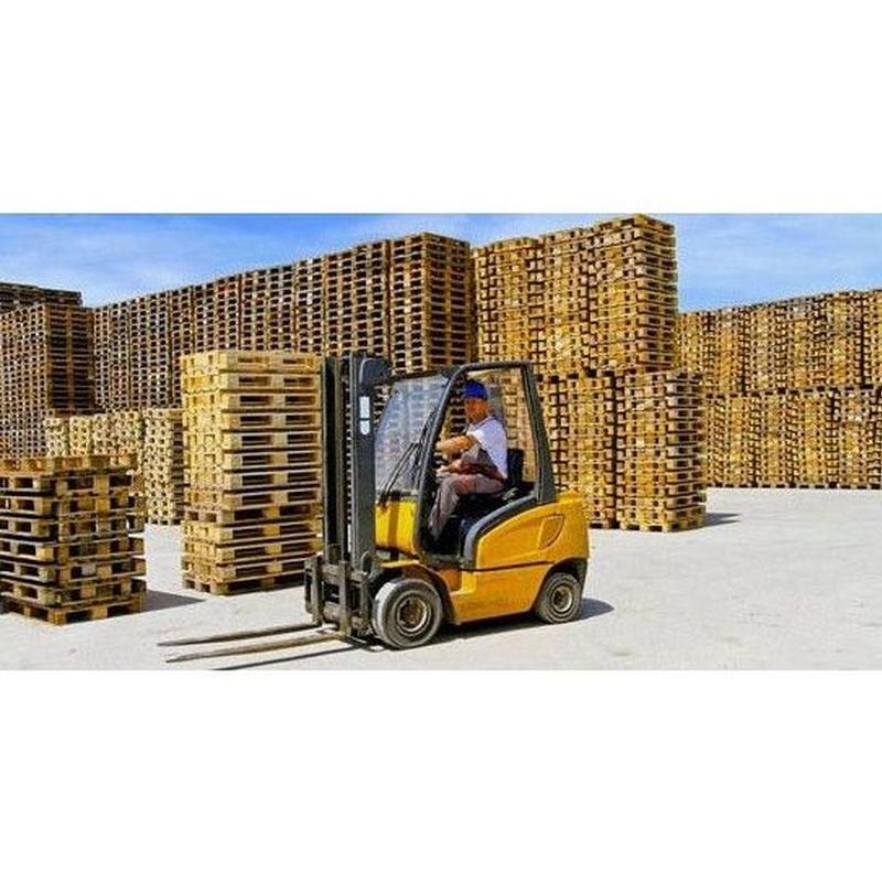 Servicio de contenedores grandes para reciclaje: Servicios de Palets y Recuperaciones Jarama