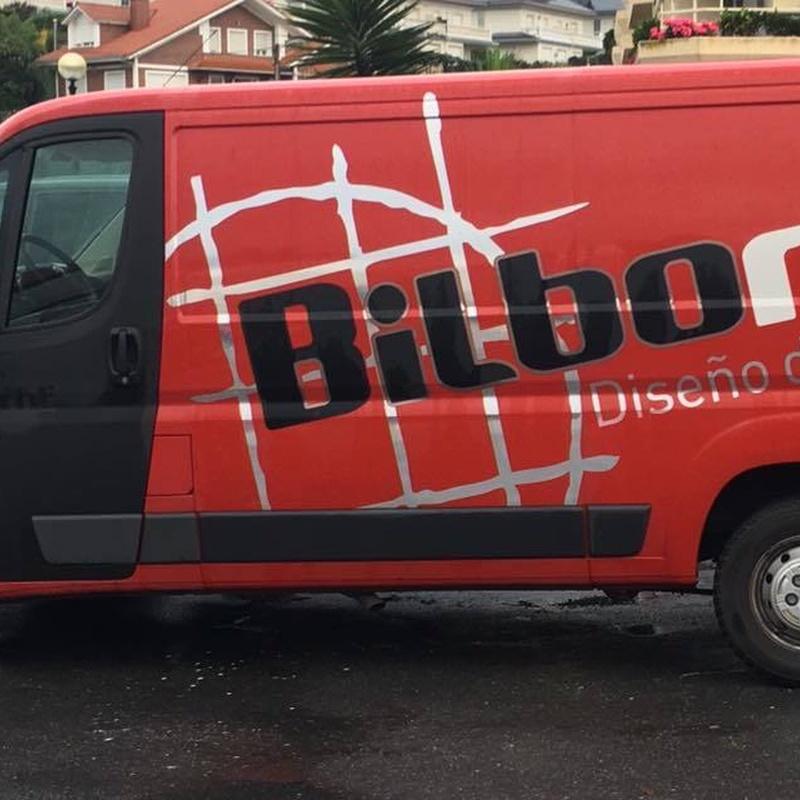 Rotulación de vehículos: Servicios de Bilborot
