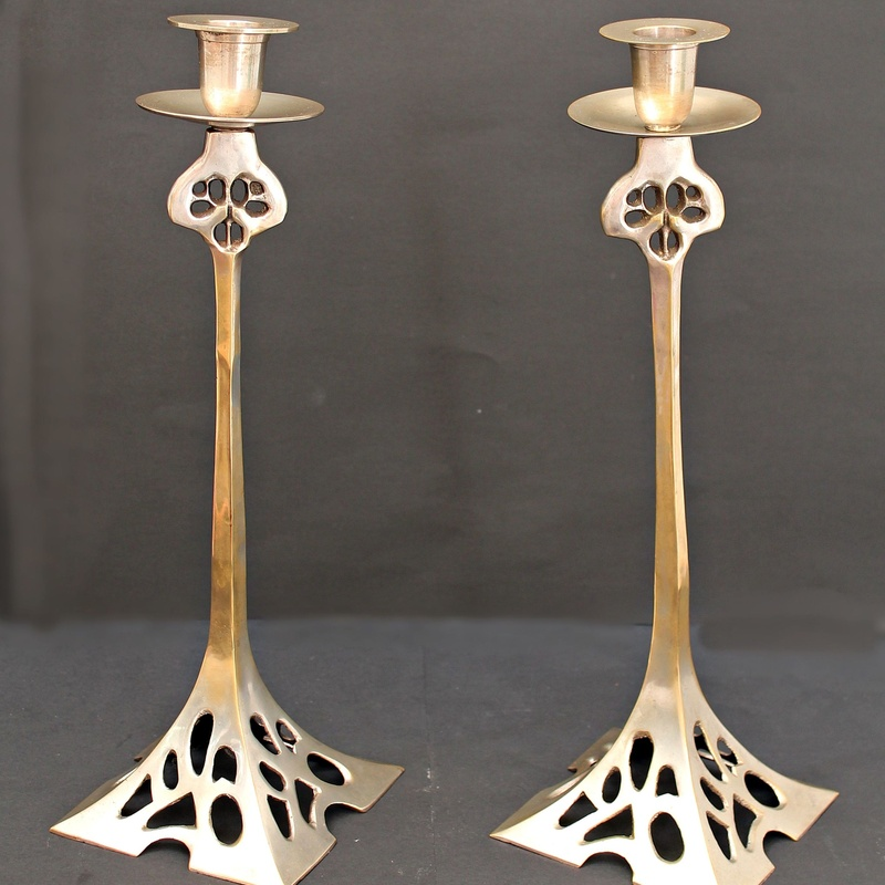 Candelabros Belgas Art Nouveau:  de Ruzafa Vintage