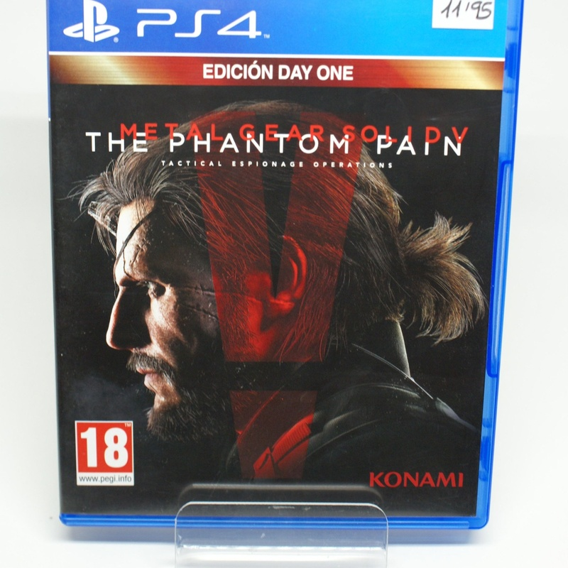 PS4 METAL GEAR SOLID V: TGE PHANTOM PAIN: Compra y Venta de Ocasiones La Moneta