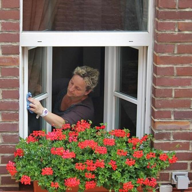 Cómo limpiar cristales de ventanas