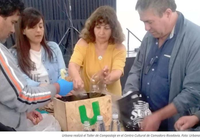 ¿Cómo reducir el 50% de los residuos domiciliarios?: Urbana brindó taller de compostaje