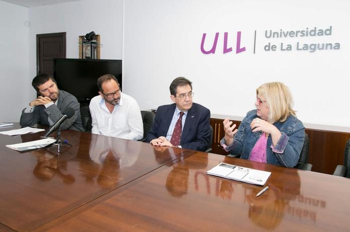 Firma del Convenio con La Laguna