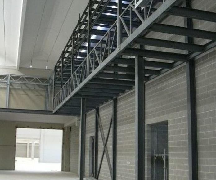 Altres projectes realitzats: Serveis i Projectes de Estructures Metal.Liques Quintana, S. A. U