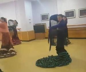 Clase de flamenco con Ana Maciá