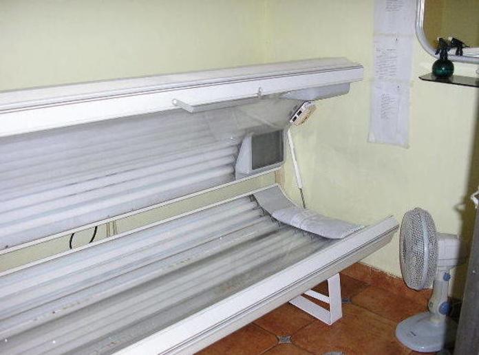 Cabinas de solárium en Vizcaya