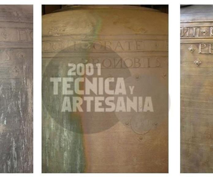 Limpieza de bronces: Productos de 2001 Técnica y Artesanía