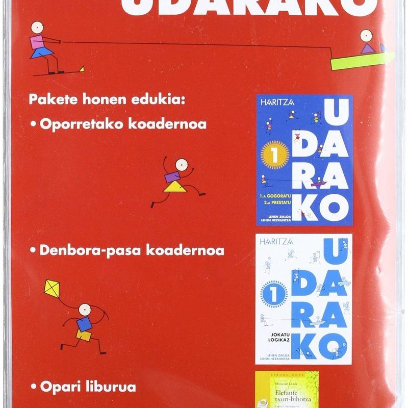 REPASO GENERAL EN EUSKERA 1º PRIMARIA. UDARAKO. ANAYA-HARITZA