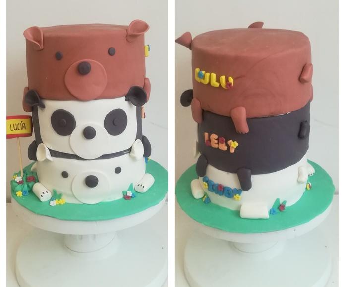 tarta tres osos