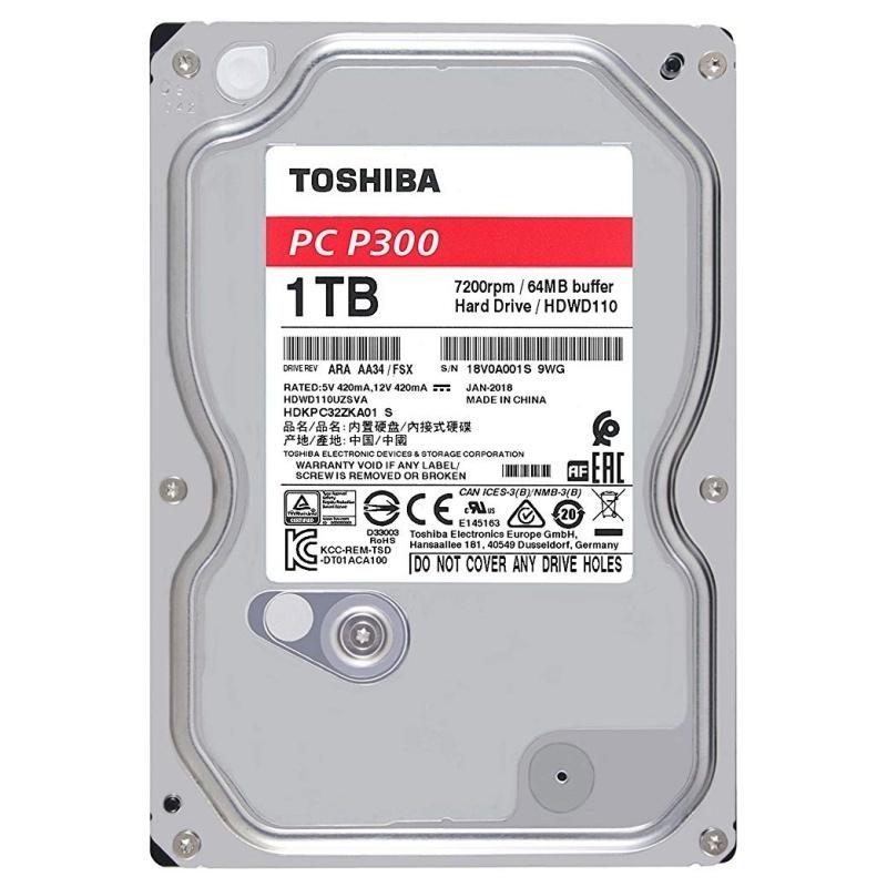 """Toshiba P300 HDWD110UZSVA HD 1TB 3.5"""" 7200rpm: Productos y Servicios de Stylepc"""