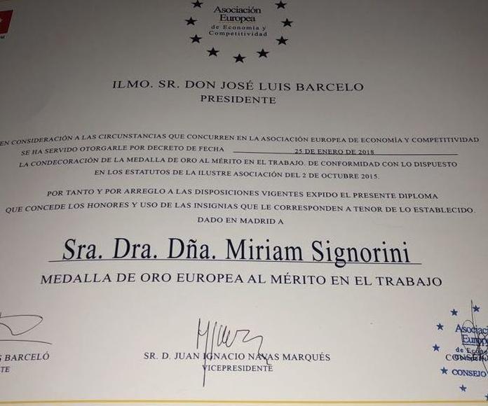 Dra. Miriam Signorini