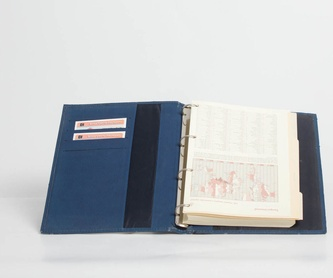 TARJETERO T-01057: Catálogo de M.G. Piel