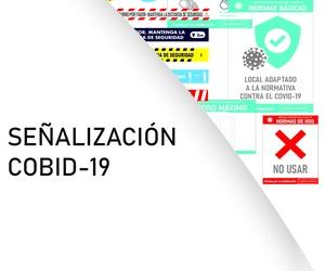 Catálogo de señalización Cobid-19