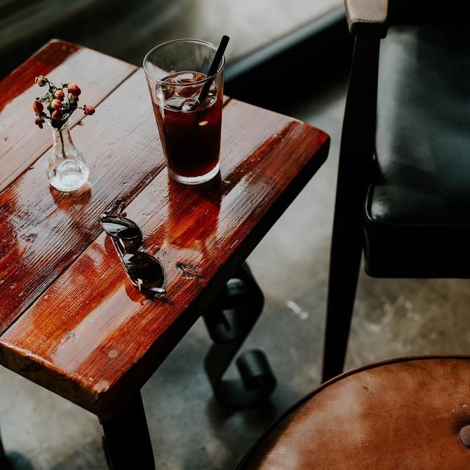 La limpieza de los muebles de madera
