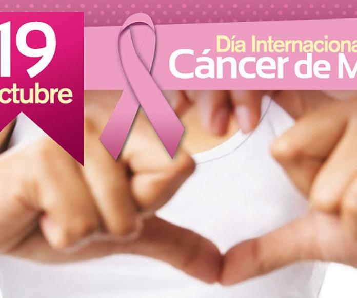19 de octubre Dia Internacional contra el Cáncer de Mama
