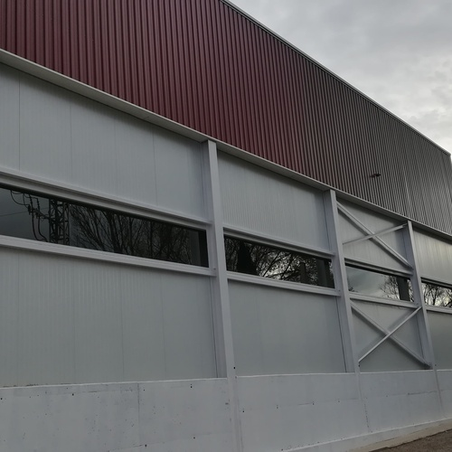 Construcciones metálicas en Huesca | Gramin