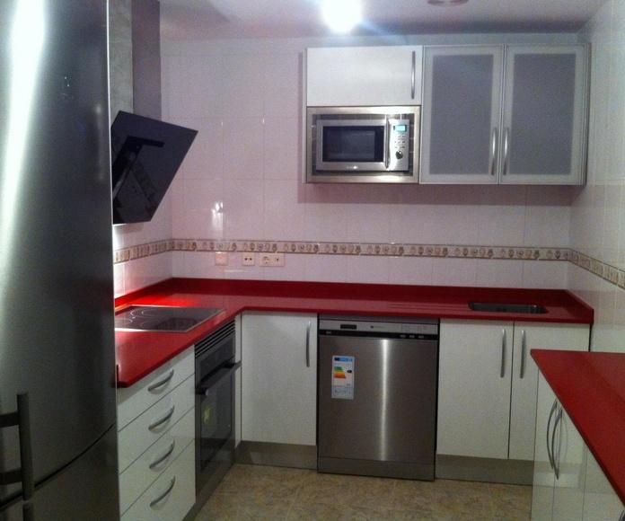 Muebles de cocina Murcia, Muebles a medida Murcia, Carpinteros Murcia, Muebles cocina Murcia
