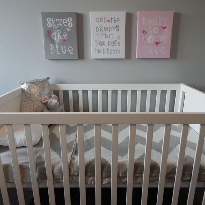 Decorar una habitación infantil con cuadros