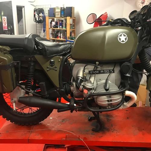 Pre ITV de moto en Sarrià-Sant Gervasi, Barcelona | Bonobo's Garage