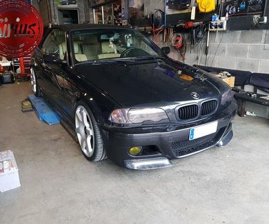 BMW 330 Cabrio - BCRacing + Rotiform
