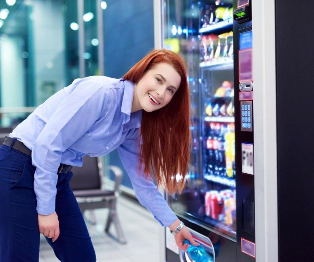 Ventajas de tener máquinas de vending en la empresa