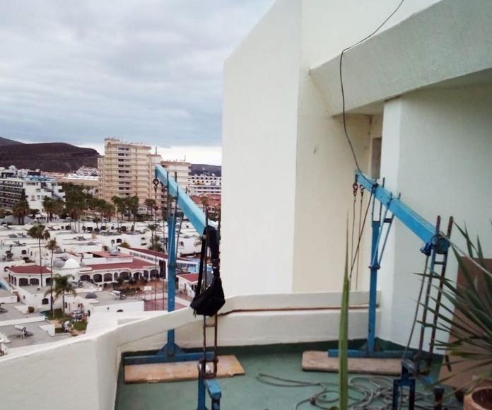 Instalación en hotel Playa de las Américas