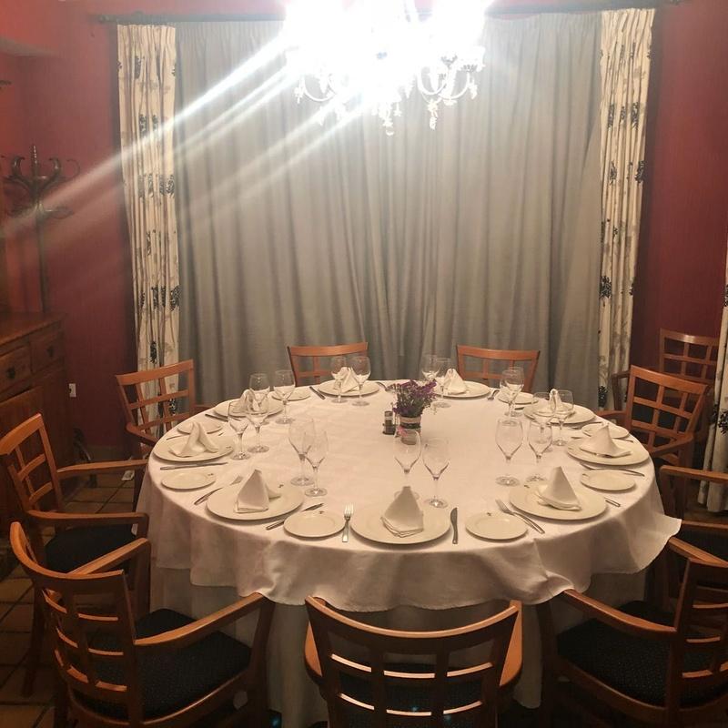 Menú celebraciones: Servicios de Restaurante El Palmito