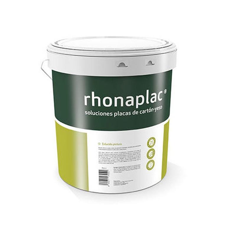Rhonaplac Enlucido pintura en almacén de pintura en pueblo nuevo.