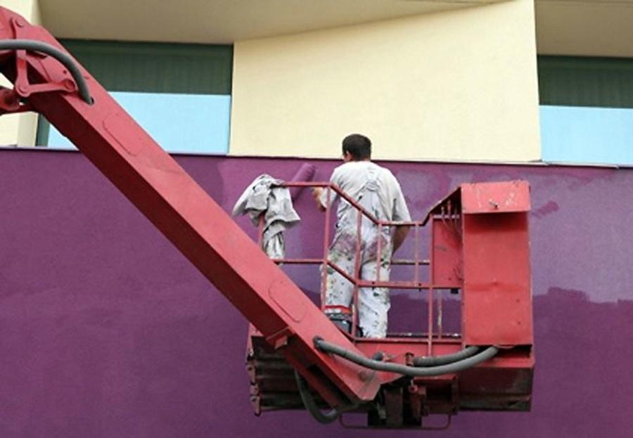 Pinturas de exterior para edificios