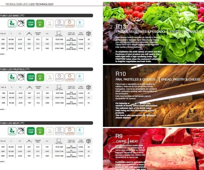 Tubo especial alimentación: Productos de Centro Led Almería