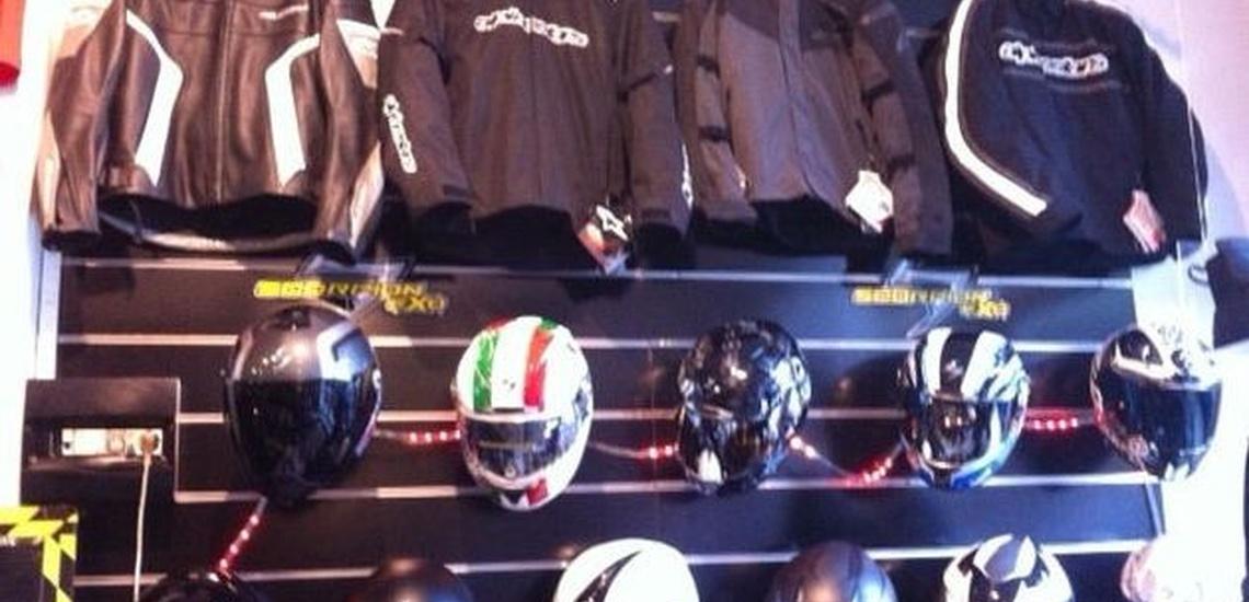 Tienda de motos en Donostia con todo tipo de complementos