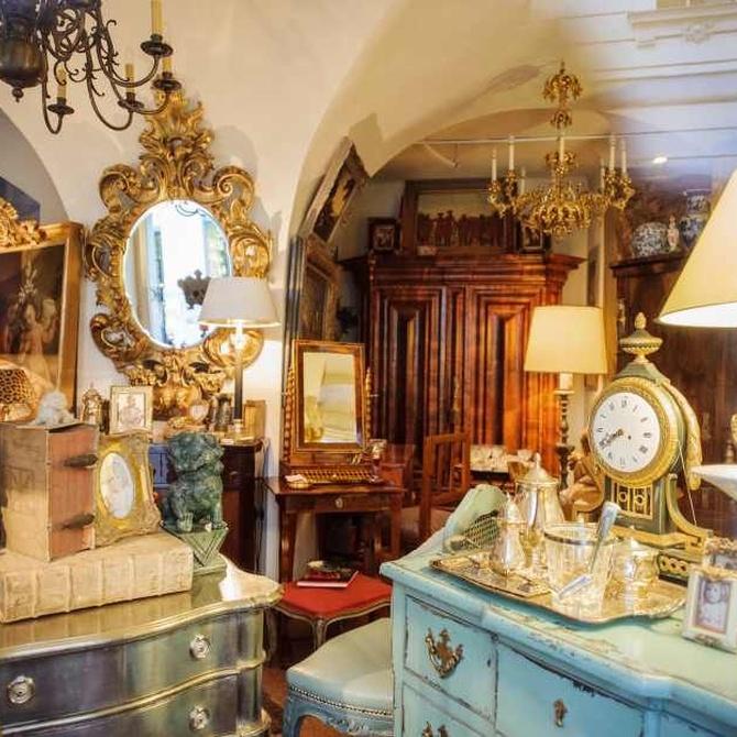 Las antigüedades en la decoración de espacios