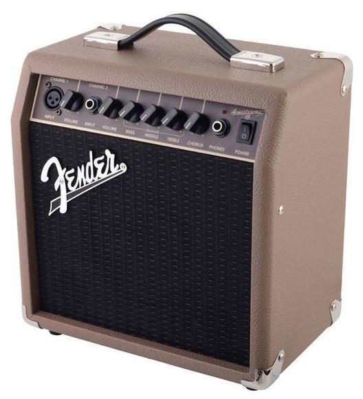 Amplificador guitarra acústica Fender 15w