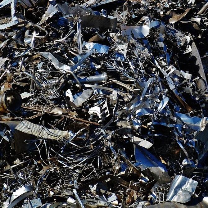 El reciclaje de metales para el arte