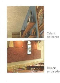 Celenit, aislamiento acústico