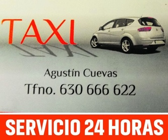 Rutas turísticas: Servicios de Taxi Agustín