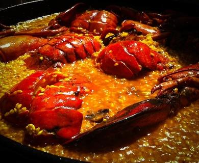 ¿Quieres saber como preparar un espectacular arroz meloso al bogavante?