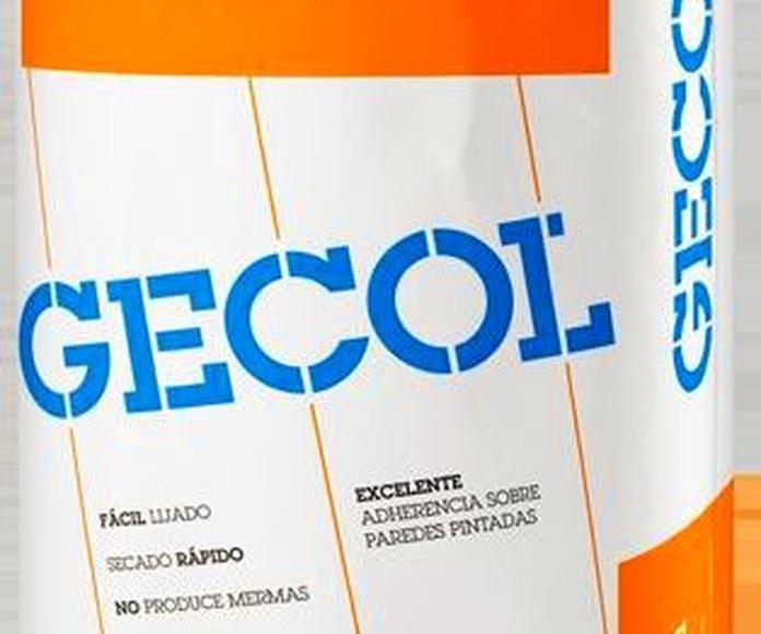 Pasta renovación Gecol: Catálogo de Materiales de Construcción J. B.