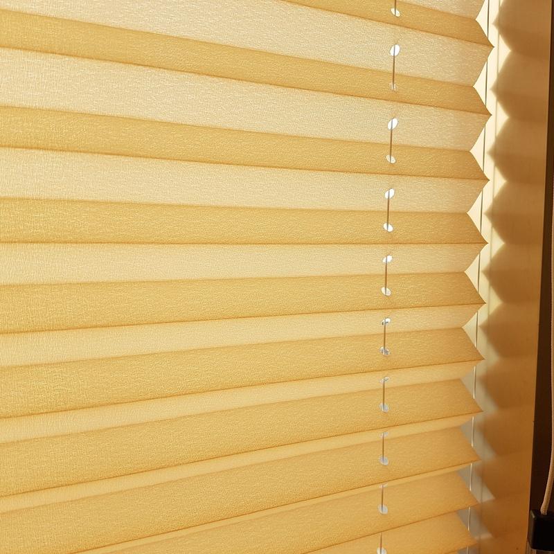 cortina plisada guiada cable