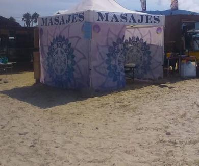 Cuidado con los masajes en la playa