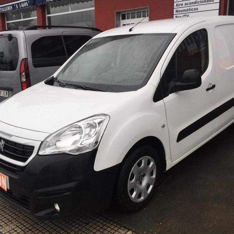 Peugeot PARTNER 1.6BlueHDI 100CV: Vehículos de ocasión de OCASIÓN A LAGOA