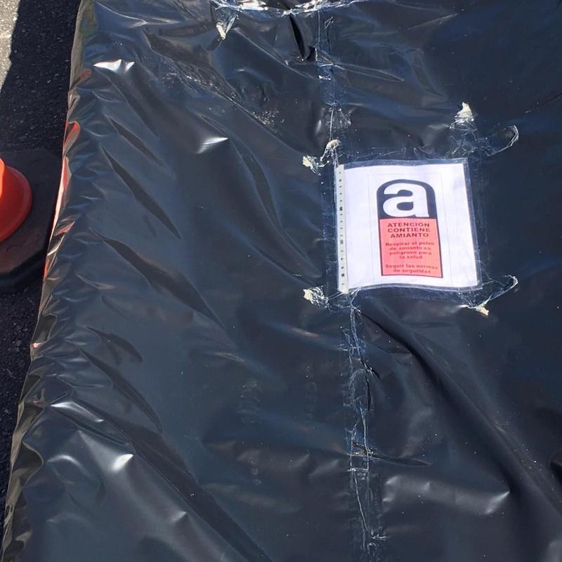 Encapsulado y paletizado de amianto: Nuestros Servicios de Sergama Reparaciones de Altura